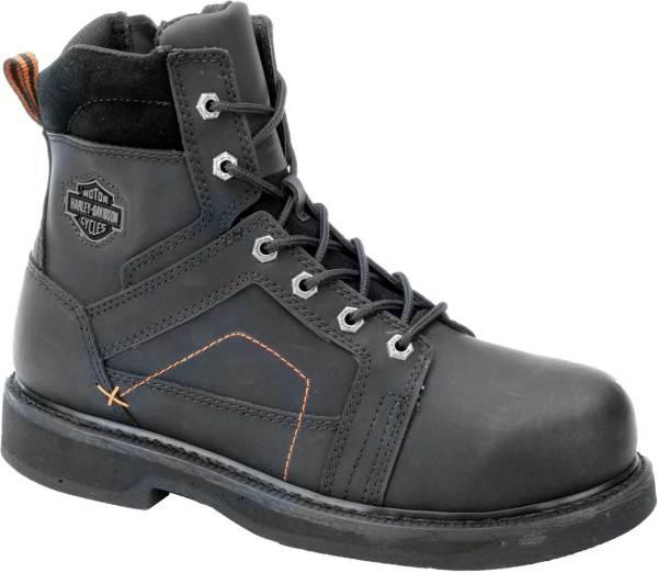 Harley-davidson Men' Pete Steel Toe 6.0- Black Boots