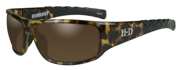 HarleyDavidson Men39s Burnout HD Sunglasses Copper Lens