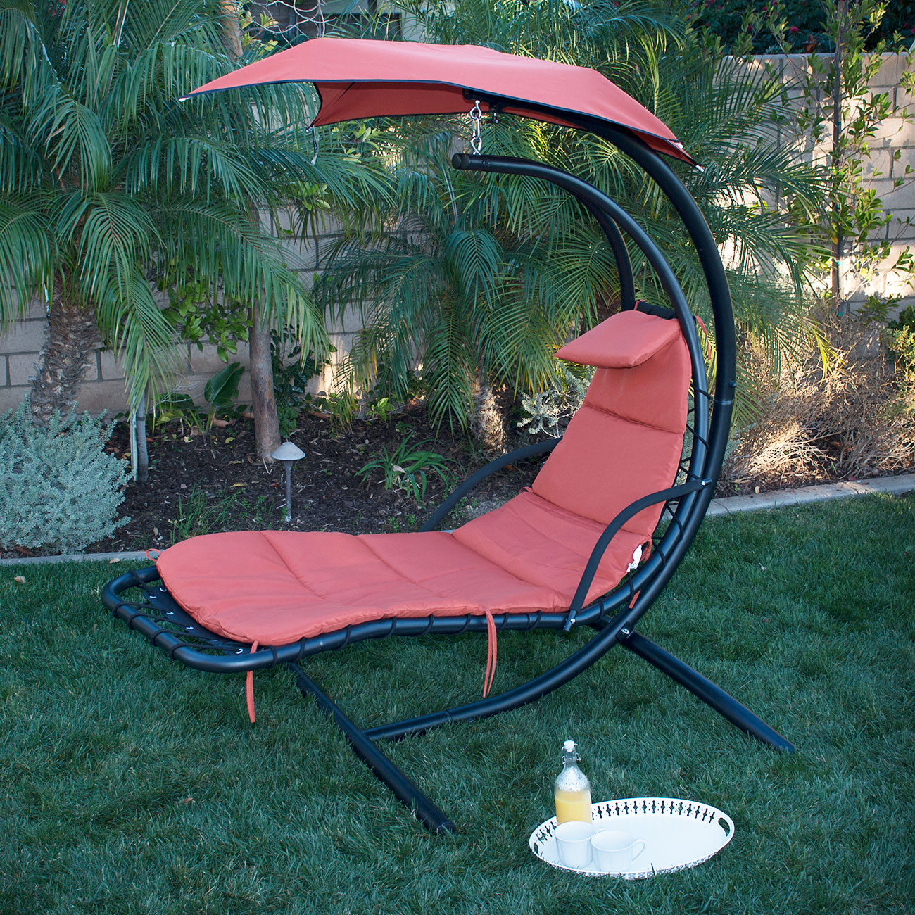 hammock chair with canopy small table and chairs set for kitchen new swing hanging chaise lounger