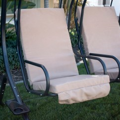 Swing Hammock Chair With Stand Fishing Feet New Hanging Chaise Lounger Arc Air Porch