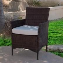 Dark Brown Wicker Patio Furniture Sets