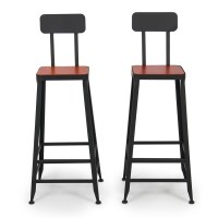 Industrial Bar Stools Counter Top Height Vintage Draft ...