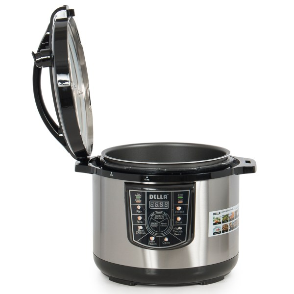 10-quart Programmable Electric Pressure Cooker 8-in-1 Setting 1400-watt