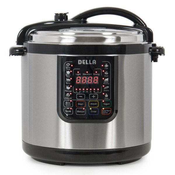 1400-watt 10-in-1 Programmable Pressure Instant Cooker Slow Cook Pot 10-quart