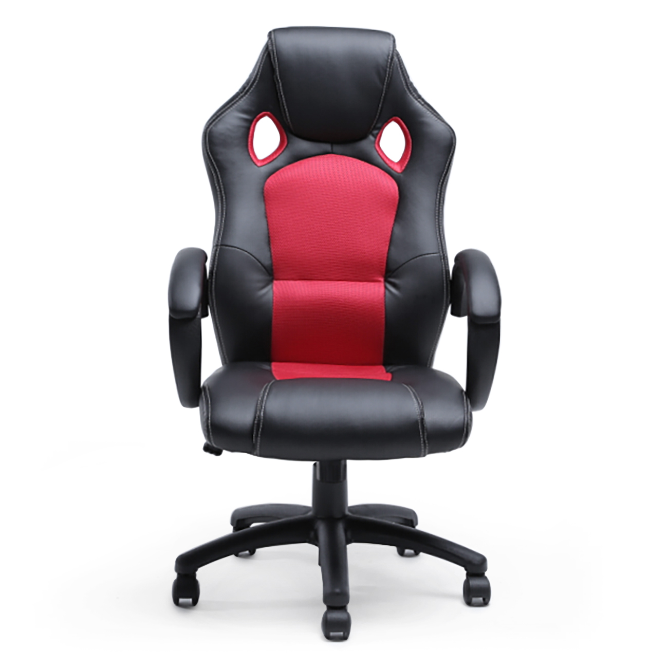 Racing Desk Chair Office Chair Ergonomic Computer Mesh Pu Leather Desk Seat