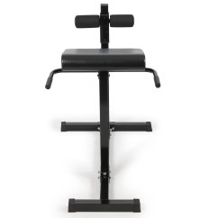 Roman Chair Back Extension Muscles Sit Stand Hyperextension Bench Exercise Home