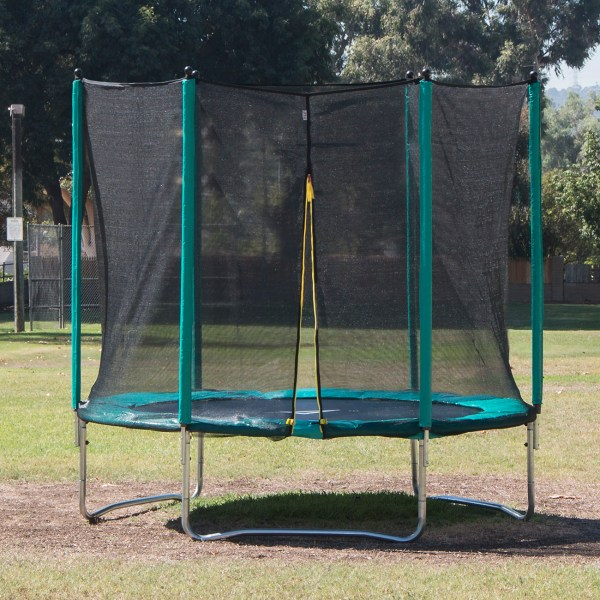 14 Ft Trampoline With Enclosure Safety Net Outdoor Playset Kid Backyard Jumper