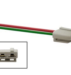 accel 170072 wiring harness pigtail for gm hei distributors power hei wiring schematic gm hei wiring [ 3884 x 2589 Pixel ]