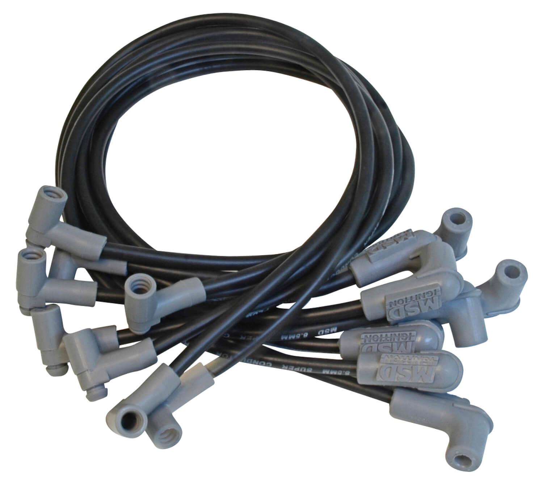 hight resolution of msd 90003 black ignition kit digital 6al distributor wires coil bracket sbc 18227483230 ebay
