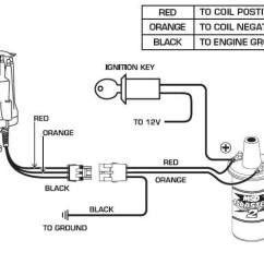 Mallory Distributor Wiring Diagram 7 Way Trailer Plug With Electric Brakes Msd 9903 Ignition Complete Kit Ready To Run Distributor/wires/coil Chevy 348/409 | Ebay