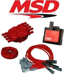 msd ignition tuneup kit 96 98 chevy gmc vortec 5 0 5 7l [ 1000 x 1000 Pixel ]