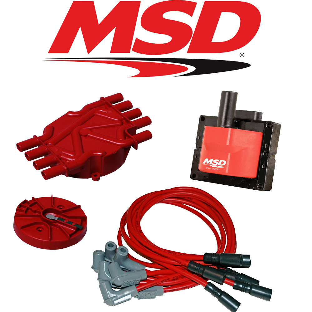 hight resolution of msd ignition tuneup kit 96 98 chevy gmc vortec 5 0 5 7l