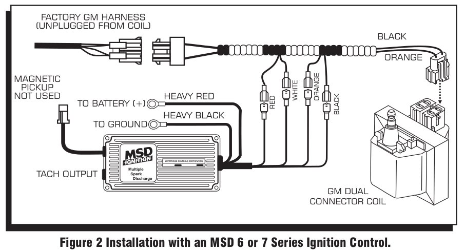 MSD 9993 Streetfire Ignition Kit 88-92 Camaro/Firebird V8