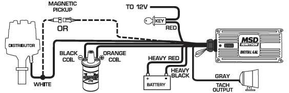 Volvo Penta Coil Wiring Diagram Msd 9115 Ignition Kit Digital 6al Distributor Wires