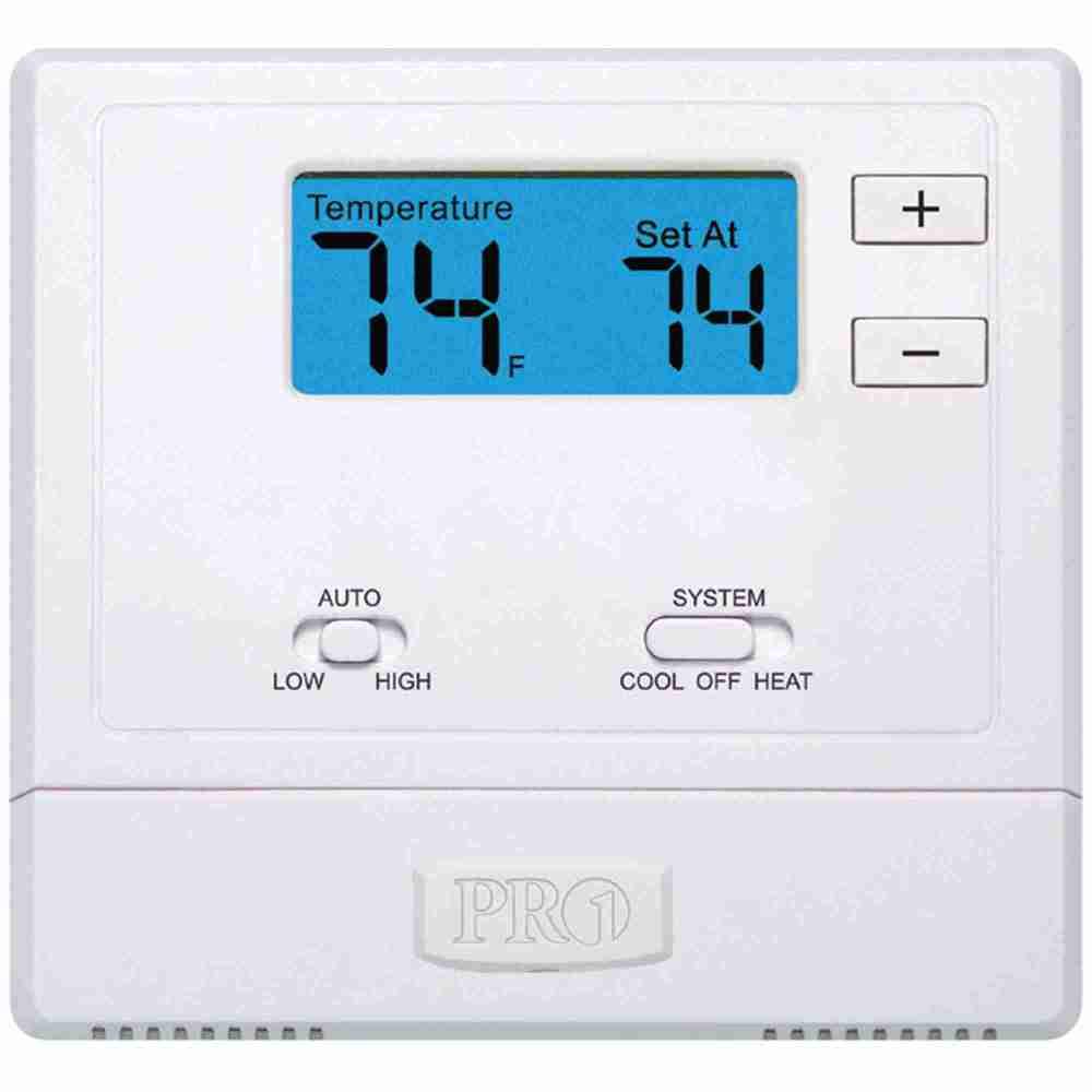 medium resolution of t631w 2 pro1 iaq thermostat wireless ebay 2 stage heat pump thermostat wiring pro1 thermostat wiring diagram