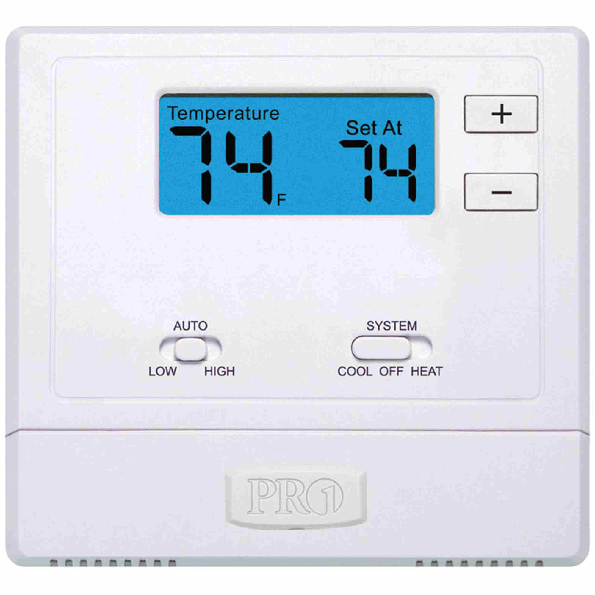 hight resolution of t631w 2 pro1 iaq thermostat wireless ebay 2 stage heat pump thermostat wiring pro1 thermostat wiring diagram