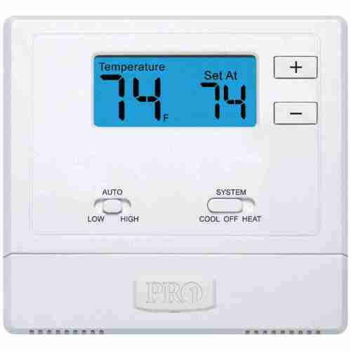 small resolution of t631w 2 pro1 iaq thermostat wireless ebay 2 stage heat pump thermostat wiring pro1 thermostat wiring diagram