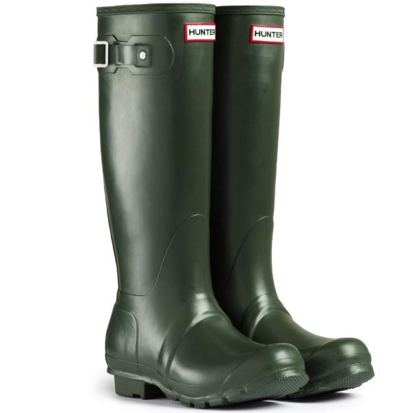 Womens Hunter Wellington Boots Original Tall Rain Snow