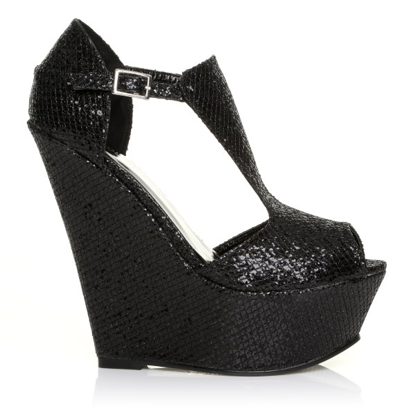 NEW WOMEN LADIES FASHION HIGH HEEL WEDGES PARTY PLATFORM