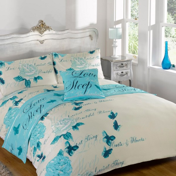 Butterfly Comforter Bed