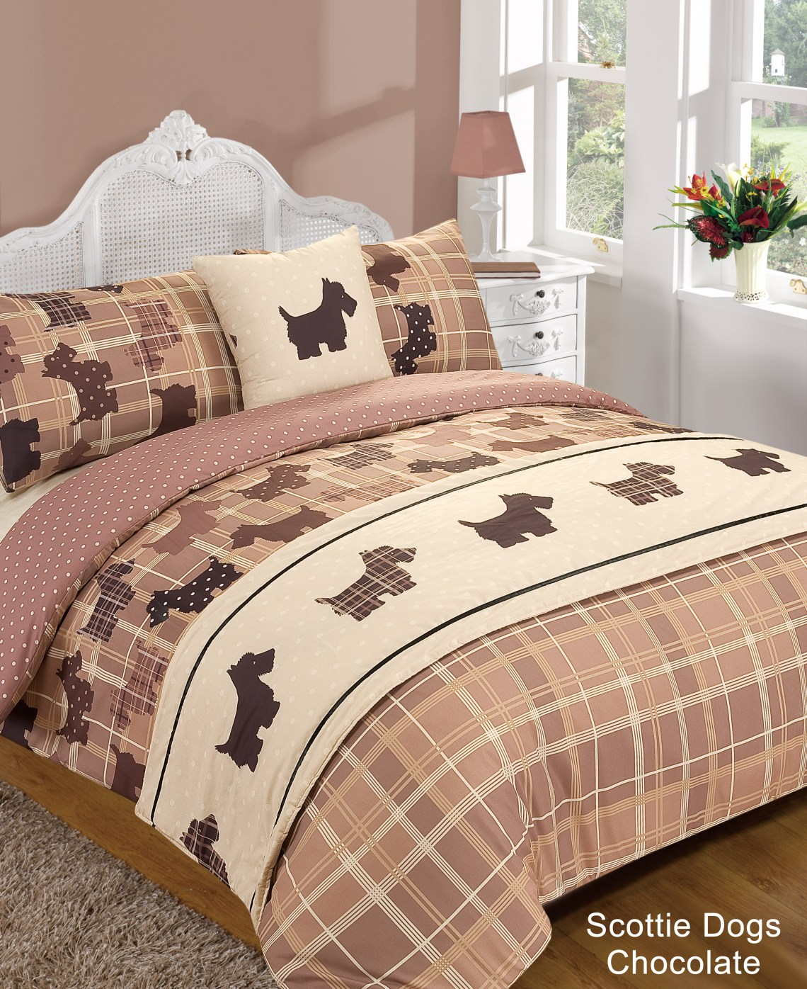 Amazing Bed Sheet Animal Print Bedspreads - scottie%20dogs%20chocolate  You Should Have_993859.jpg