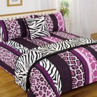 Leopard Animal Print Serengeti Bed in a Bag Duvet Quilt ...