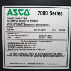Asco 7000 Wiring Diagram Parts Of A Flowering Plant Series Ats 962 Manual