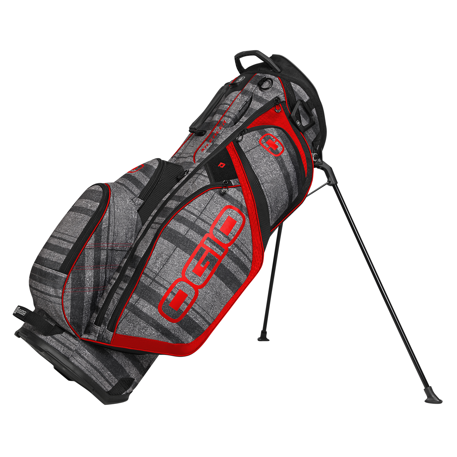 7 way golf stand bag diagram showing esophagus and windpipe ogio silencer 14 top w pockets 2015