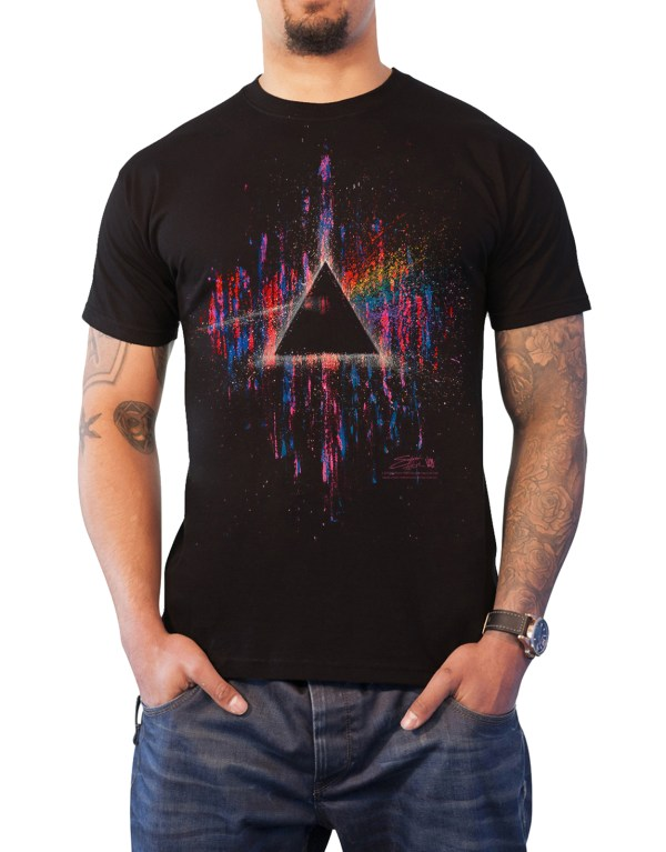 Pink Floyd T Shirt Dark Side Of Moon Wywh Tour Band