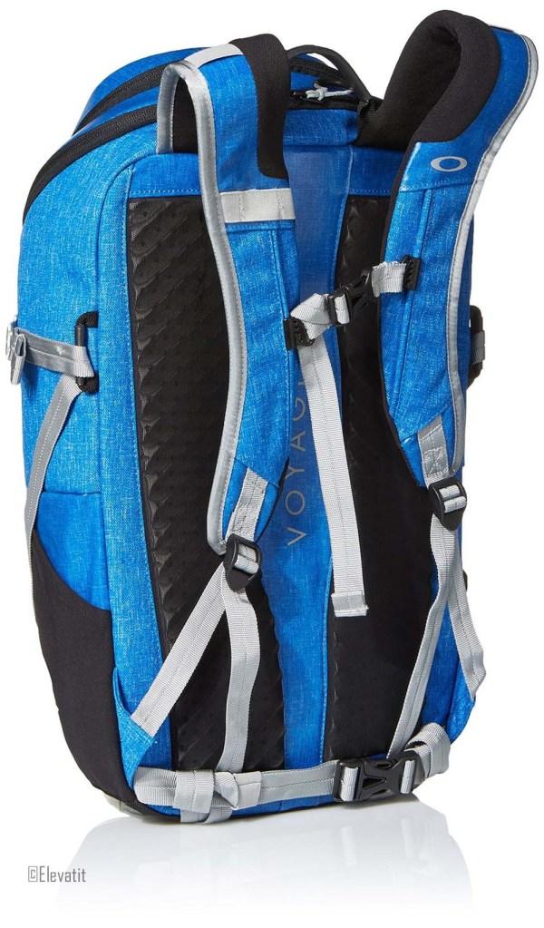 Oakley Mens Voyage 25 Backpack Electric Blue Black