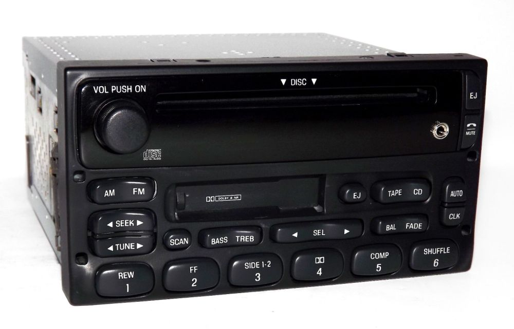 medium resolution of ford truck and van radio 1999 2010 am fm cd cs w ipod sat aux in xl2f 18c868 ab 1 factory radio