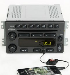 hyundai santa fe 2001 2006 monsoon radio am fm 6 disc cd w aux input pn 12239439 1 factory radio [ 2576 x 2600 Pixel ]