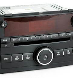 saturn ion vue 2006 2007 radio am fm cd player w auxiliary input pn 15850680 1 factory radio [ 3640 x 2592 Pixel ]