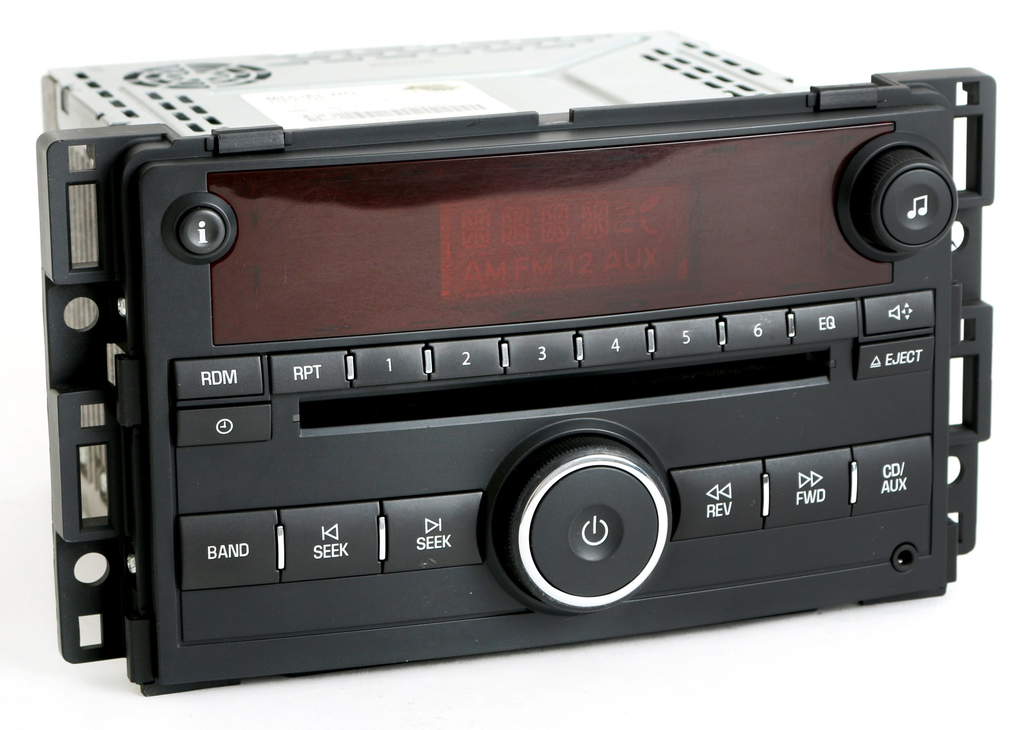 hight resolution of saturn ion vue 2006 2007 radio am fm cd player w auxiliary input pn 15850680 1 factory radio