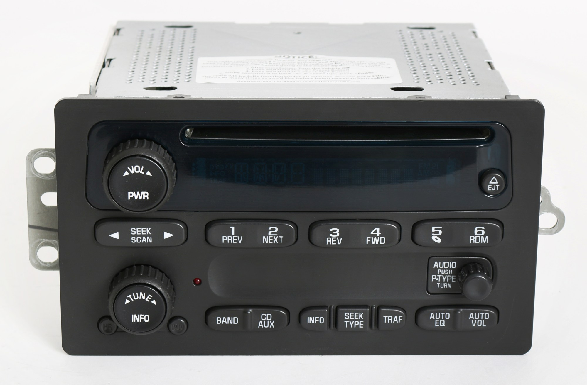 hight resolution of chevy gmc 2003 2005 truck factory oem radio am fm cd player part number 10357894 1 factory radio