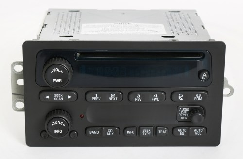 small resolution of chevy gmc 2003 2005 truck factory oem radio am fm cd player part number 10357894 1 factory radio