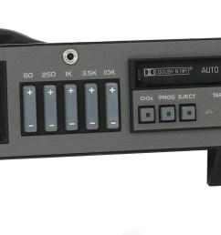 reman aux upgrade service for 1988 1994 chevy gmc truck radio eq cassette deck 3 3 of 9  [ 3392 x 1264 Pixel ]