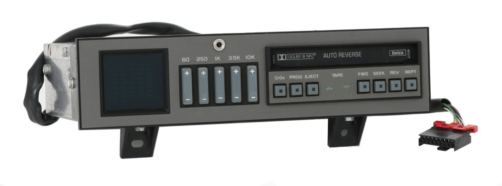 medium resolution of reman aux upgrade service for 1988 1994 chevy gmc truck radio eq cassette deck 3 3 of 9