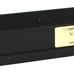 jeep grand cherokee 93 98 infinity gold amp factory oem amplifier part 56007499 1 factory radio [ 4048 x 1760 Pixel ]