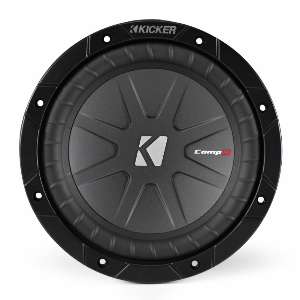 medium resolution of kicker compr 8 inch 2 ohm subwoofer 40cwr82