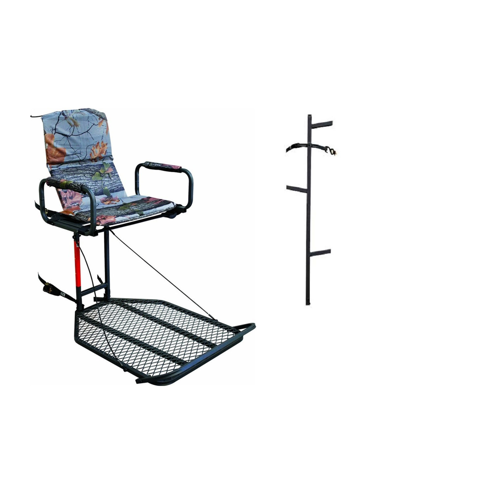 Direct Outdoor Deluxe Comfort Fixed Treestand 02 Mkhs01