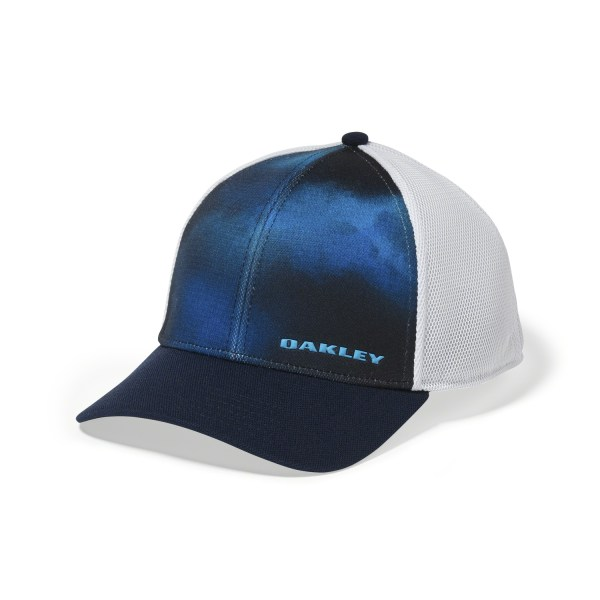 Oakley Golf Silicon Bark Trucker 4.0 Print 2016 Hat