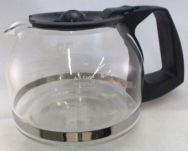 Coffee 5 Cup Glass Carafe Black Jwx3 139048