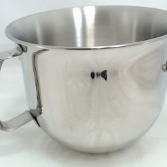Kitchen Aid Mixing Bowls Ikea Chair Kitchenaid Stand Mixer Stainless Steel Bowl 6 Qt