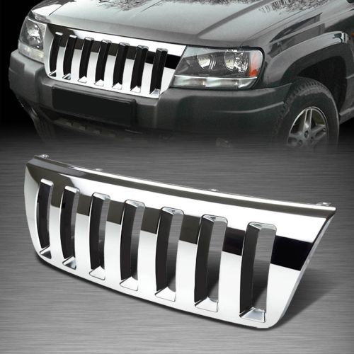 small resolution of  jeep xj custom grill for 99 04 jeep grand cherokee wj abs plastic chrome
