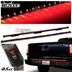 Firestorm Led Tailgate Light Bar F100 Wiring Diagram 60 Quot Universal Cut To Fit Fire Strip Red