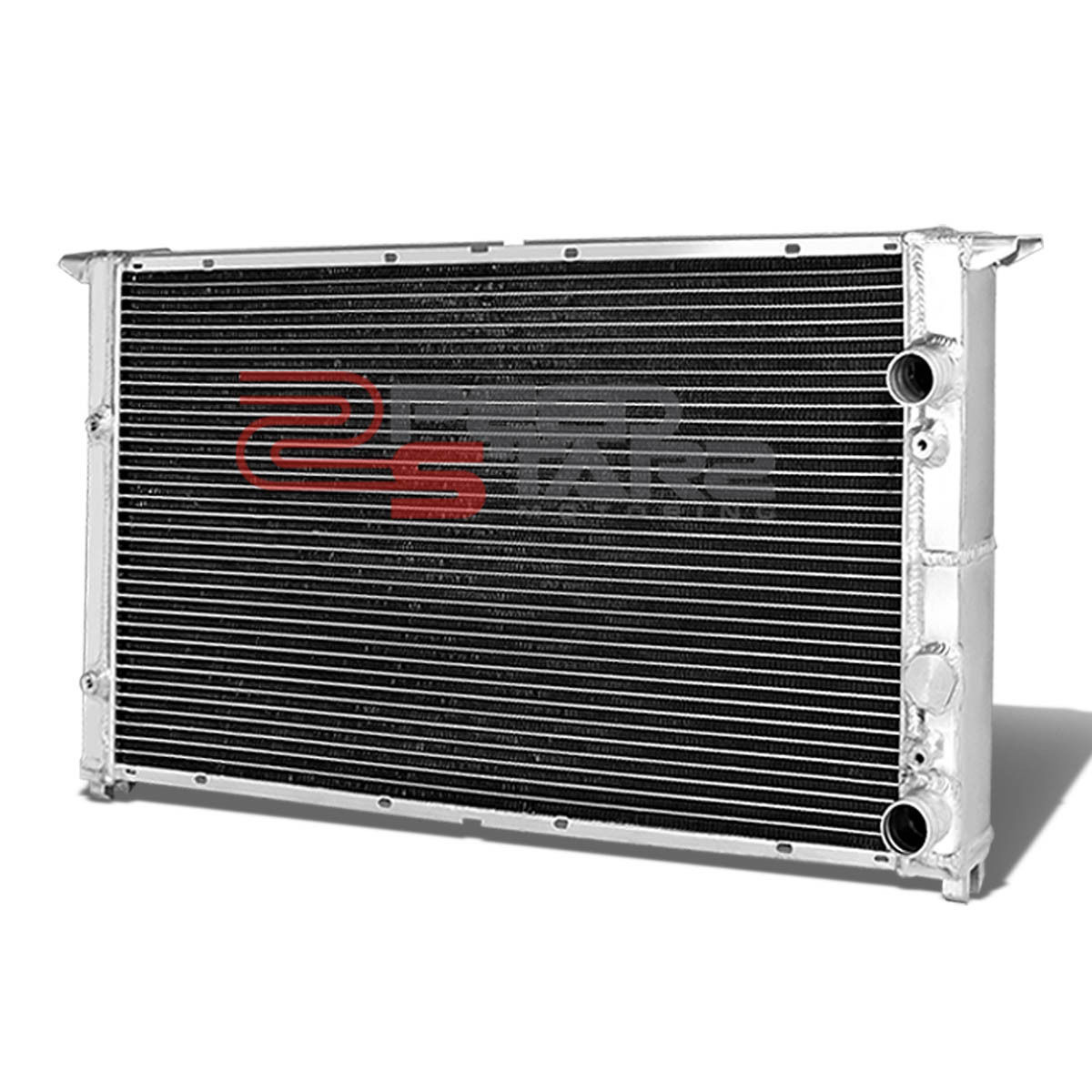 hight resolution of volkswagen golf gti vr6 mk3 mt two dual row core full aluminum chrome radiator