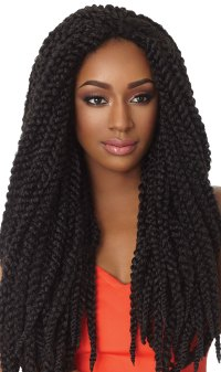 "3D BRAID 18"" - OUTRE X-PRESSION SYNTHETIC CROCHET BRAIDING ..."