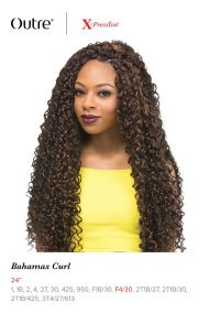 "BAHAMAS CURL 24"" BRAID - OUTRE X-PRESSION SYNTHETIC ..."