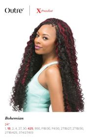 "BOHEMIAN CURL 24"" BRAID - OUTRE X-PRESSION SYNTHETIC ..."